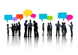 groups of people networking