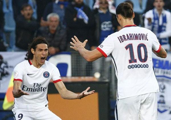 Cavani and Ibrahimovic
