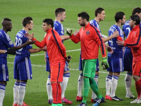 Paris Saint Germain and Chelsea