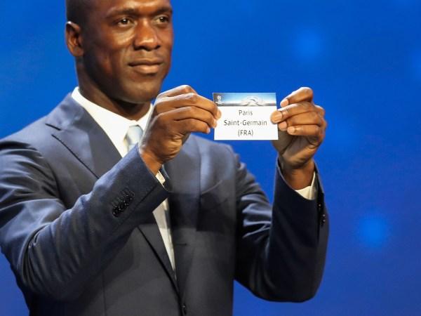 2016 PSG Champions League Draw