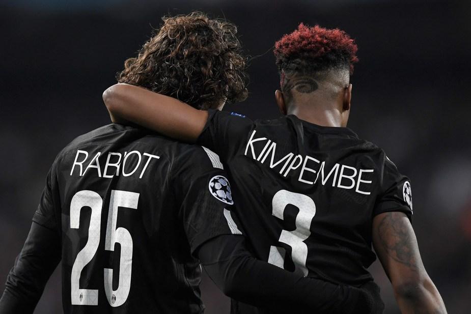 Presnel Kimpembe and Marquinhos