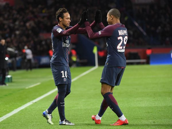 Mbappe and Neymar
