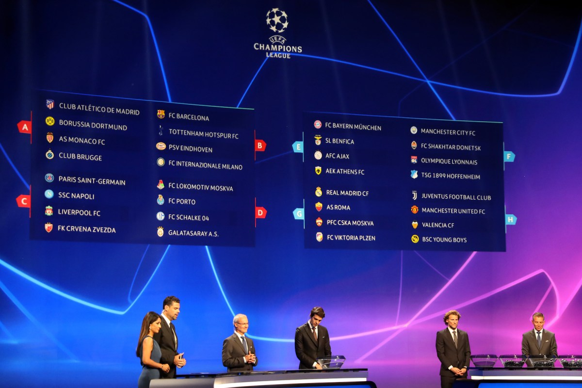 Champions League Math Explained