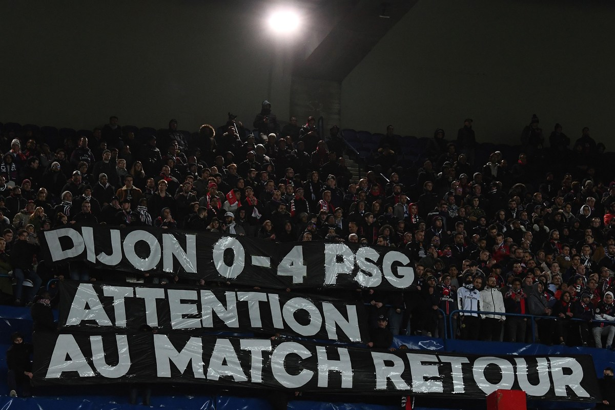 Video: In the Stands at the Parc des Princes for Le Classique