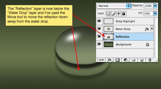step13 Thiết Kế Giọt Nước Rơi trong Photoshop