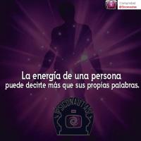 La energía de una persona...