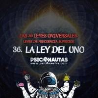 Las 36 Leyes Universales - 36. La ley del Uno.