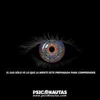 el ojo sólo ve lo que la mente está preparada para comprender.