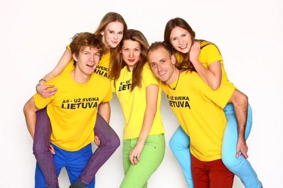 Jaunimas už sveiką Lietuvą. LSS nuotrauka