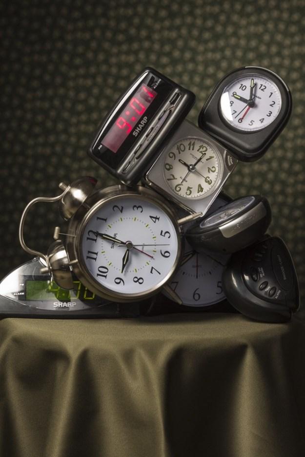 A ansiedade de ver o tempo fluir. A hora não passa.