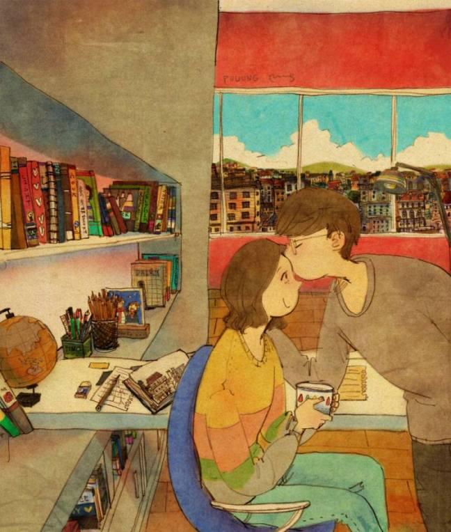 prova de amor beijo na testa