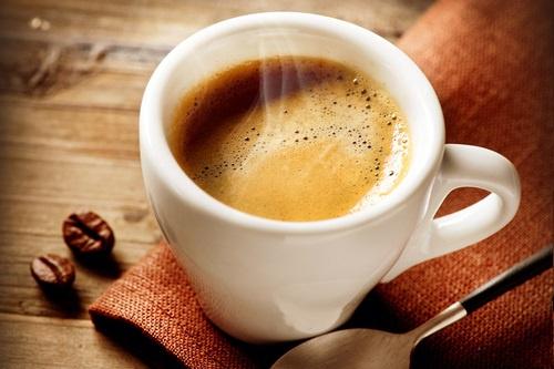 xícara de café fresquinho