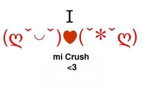 I love my crush