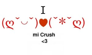 I love my crush