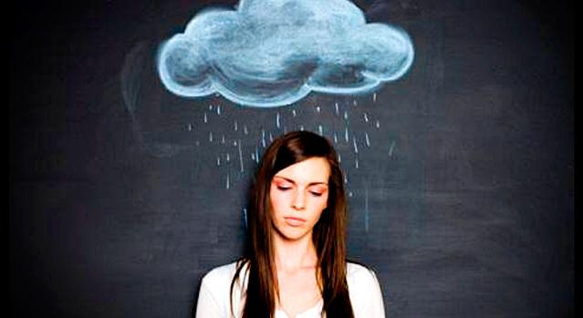 pensamentos negativos, nuvem negra, pensamentos ruins, depressão, tristeza,