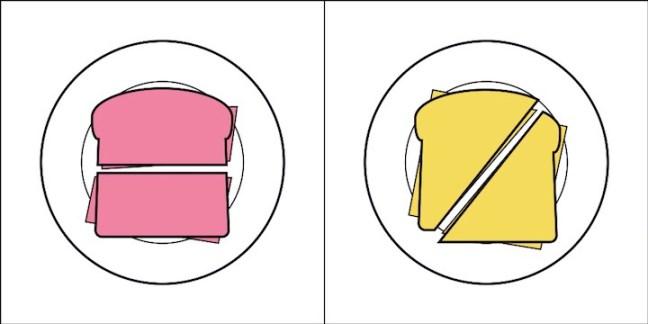 Tipo de pessoa 1: meio pão. Tipo de pessoa 2: posso comer os dois?