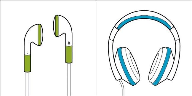Pessoa do tipo 1: O fone de ouvido auricular é muito melhor, pois preserva o som sem a interferência externa. É mais discreto. Pessoas do tipo 2: Quem se importa com o tamanho, o que vale é a qualidade. Esse não incomoda. Ouve só o peso desse som.