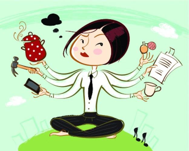 proatividade, multitarefa, pro ativo, excesso, várias funções
