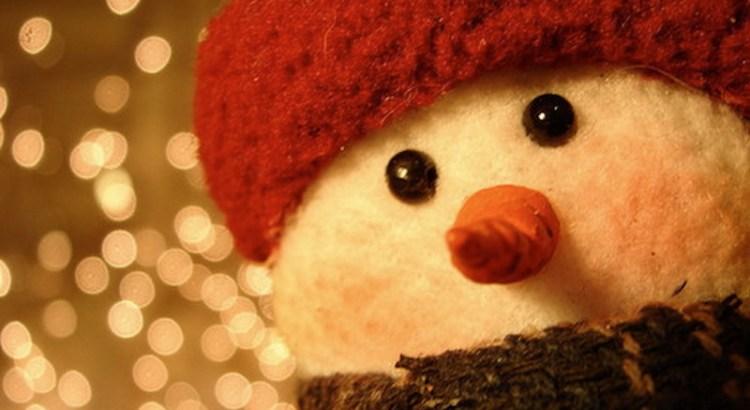presentes de natal, boneco de neve