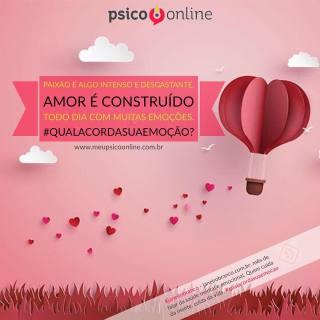Amor é construído - Psico.online - #janeirobranco