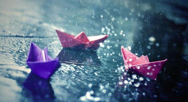 castidade, barcos de papel
