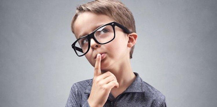 pensar, criança pensando, pensamento