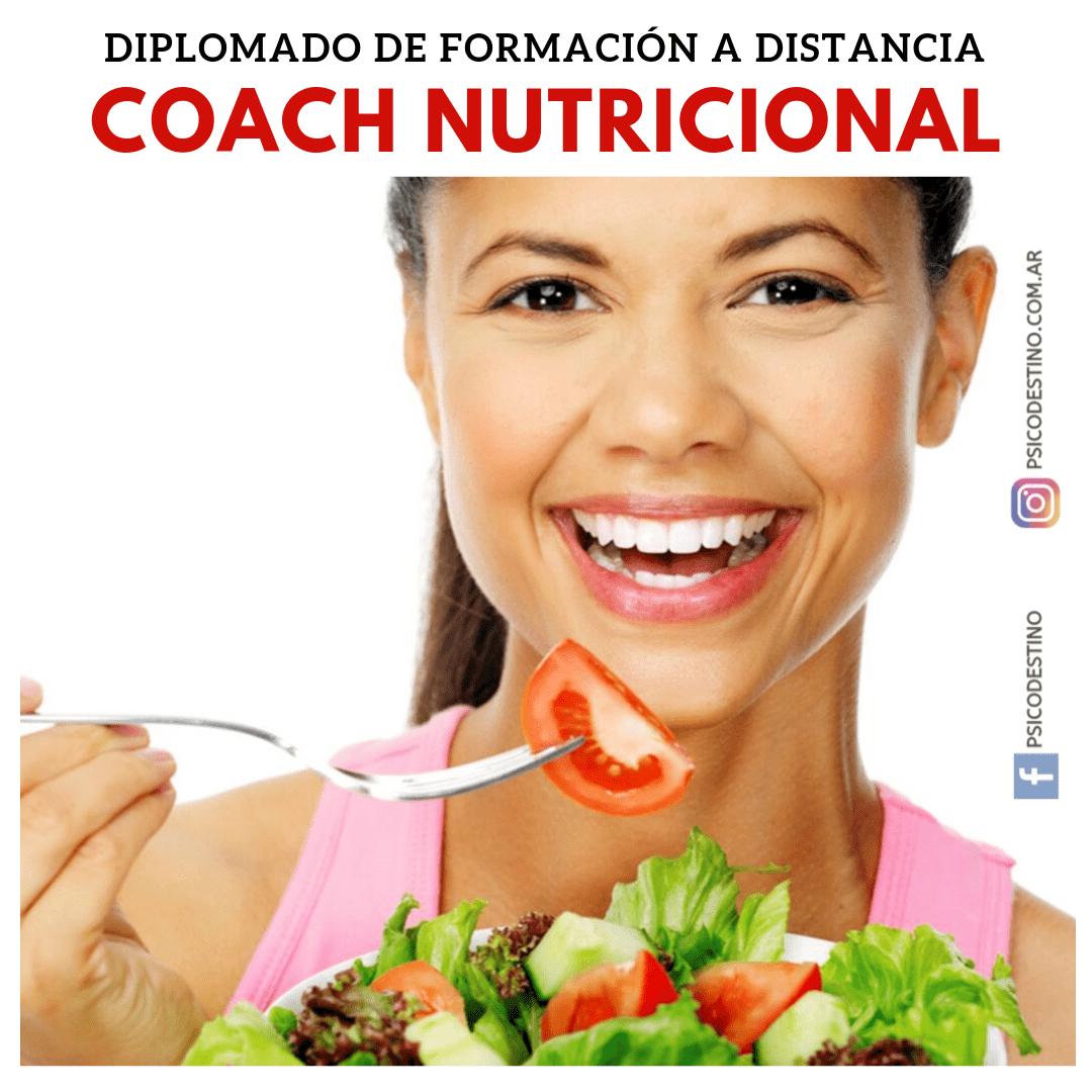 Curso online de Coach Nutricionla