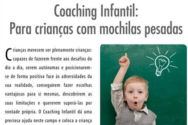 Coaching Infantil - Revista Progredir