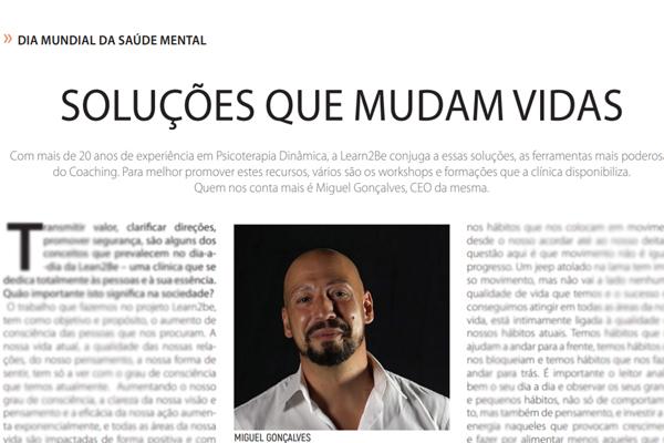 Revista Pontos de Vista - Dr. Miguel Goncalves