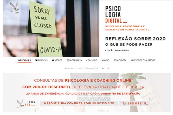 Psicologia Digital - Edição Novembro