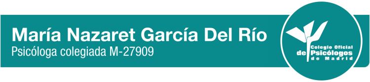 Psicóloga Nazaret García del Río