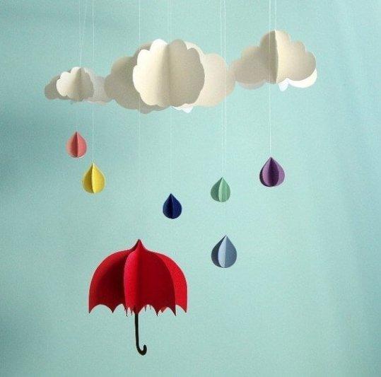 Lluvia y tristeza