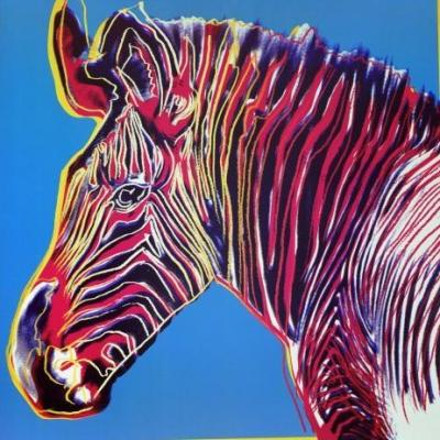 Andy-Warhol-Grevy-s-Zebra--1983--164405