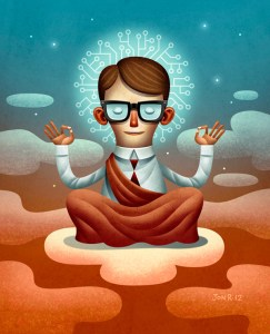 7 ejercicios mindfulness para mejorar nuestra capacidad de relajación, concentración y nuestra productividad.