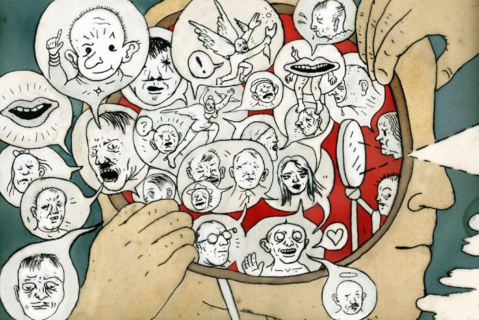 Heridas que configuran la personalidad. Nuestros personajes interiores.