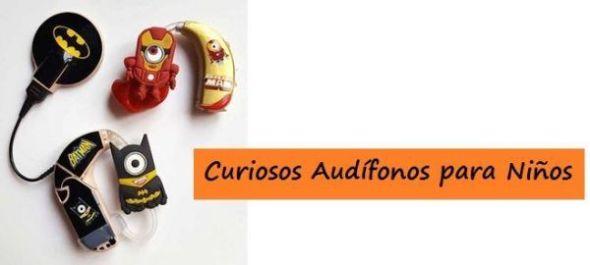 ¡¡Curiosos Audífonos para Niños!!