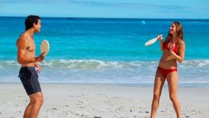 Palas en la Playa en Familia