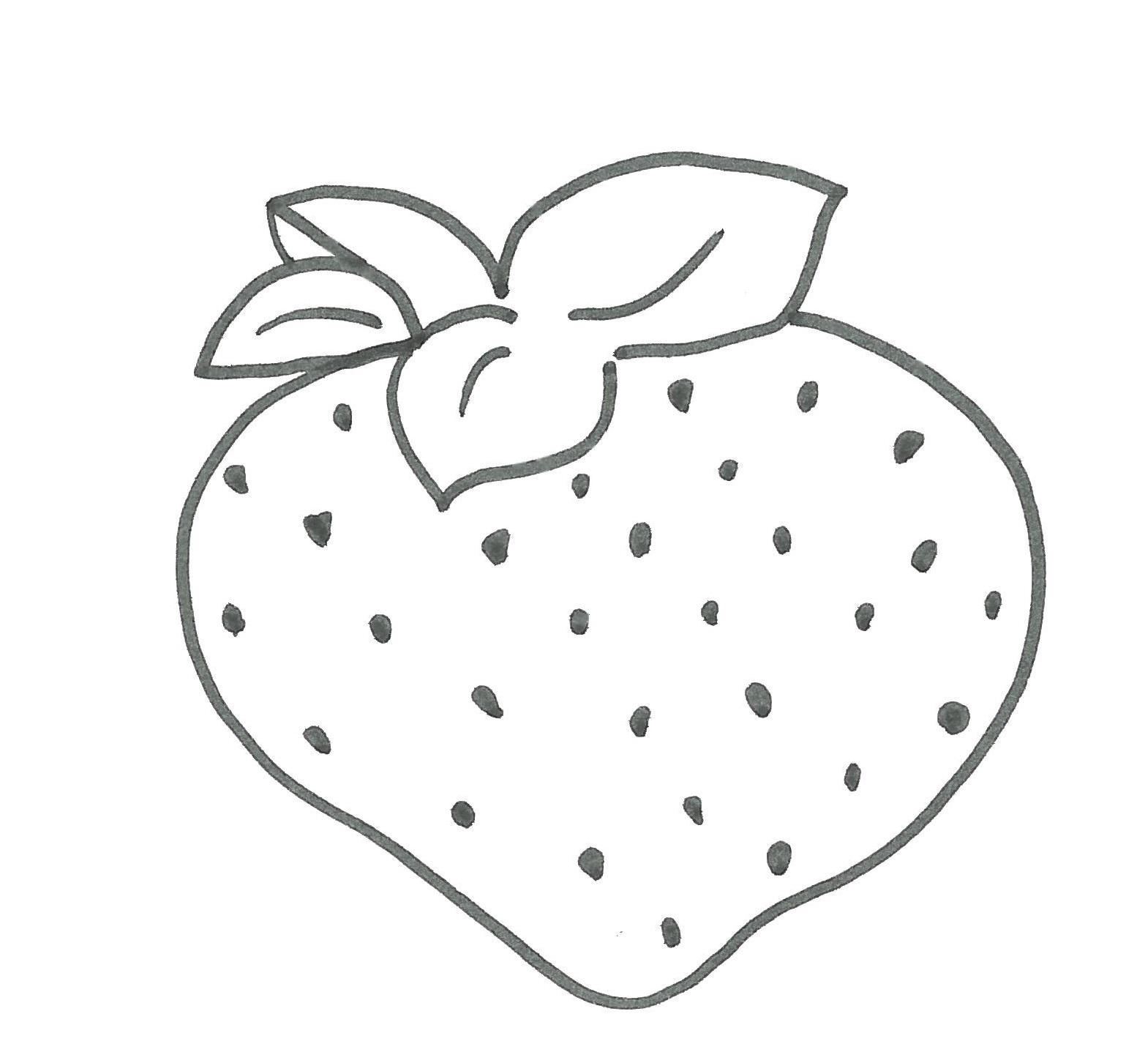Cuppaiprecpi Disegni Di Frutta Da Colorare Per Bambini