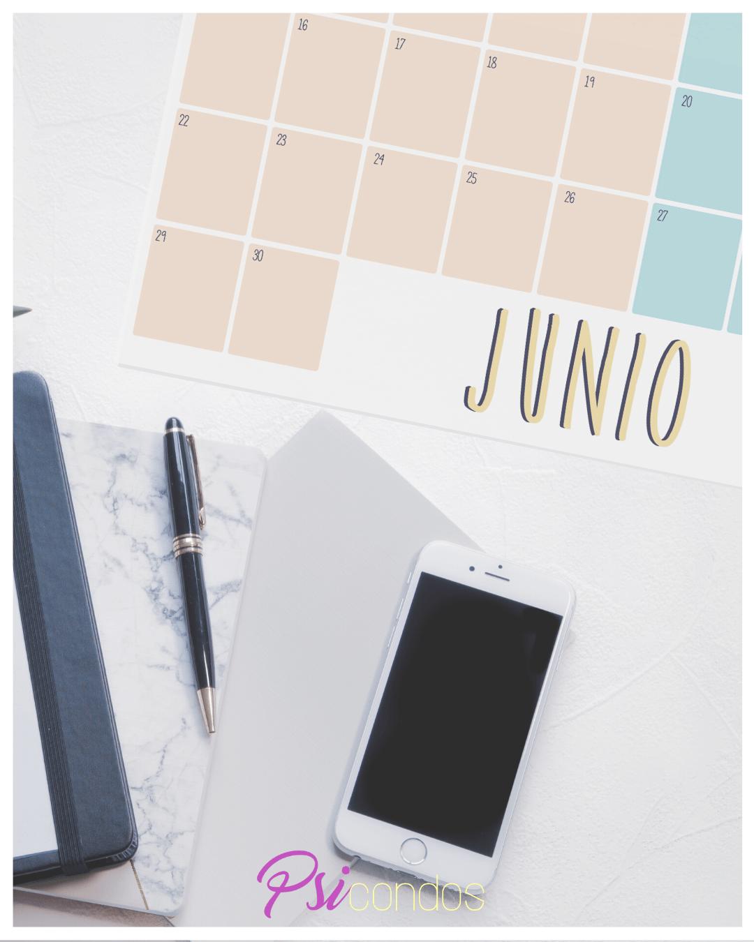 planning de junio