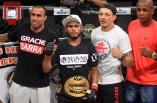 """Charles Henrique """"Blackout"""" novo campeão 61 kg."""