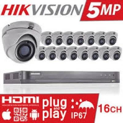 HIKVISION 7216HUHI-K2 PLUS 16 CAMS
