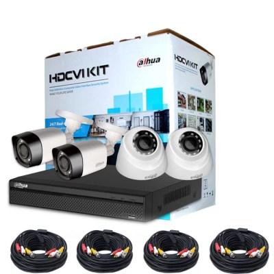 Dahua XVR5104HS -X 2MP + 4 cameras