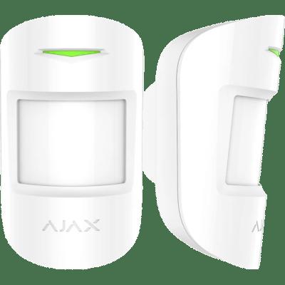 Ajax combi Protect Ασύρματος ανιχνευτής κίνησης με ενσωματωμένο ανιχνευτή θραύσης,