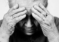 старческая деменция фото