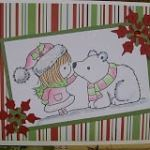 Penny Black Polar Bear Card