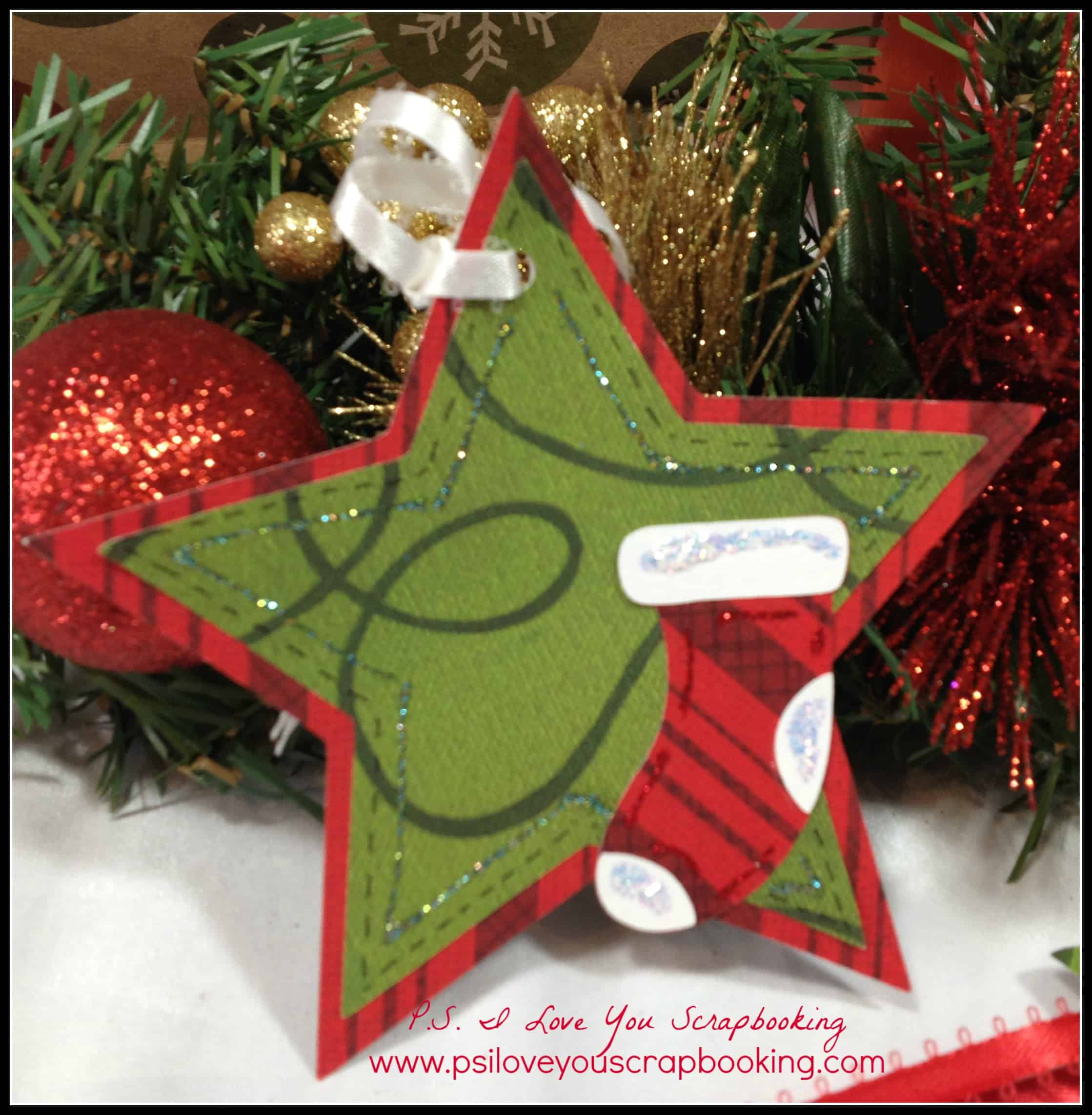 Star And Stocking Tag   The Christmas Cheer Cricut Cartridge Has All Of The  Fun Christmas