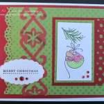 Mouse Handmade Christmas Card