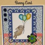 House Mouse Bunny Balloon Journey Card