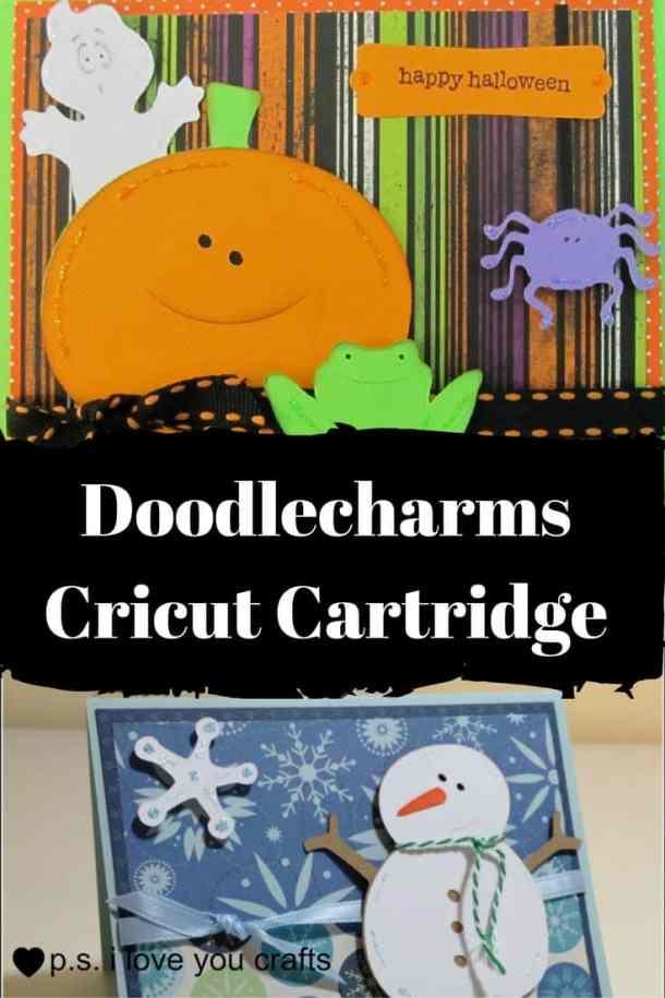 Doodlecharms Cricut Cartridge - P S  I Love You Crafts