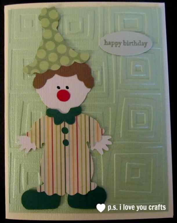 Cricut Clown - Paper Doll Dress Up Cricut Cartridge